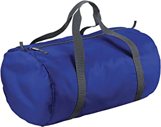BagBase Packaway Barrel Bag/Duffle Water Resistant Travel Bag (32 Litres)
