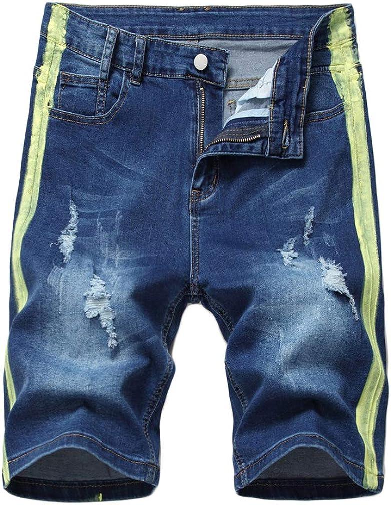 Litteking Men's Distressed Jean lowest price Shorts Casual Ripped Sale price Short Denim