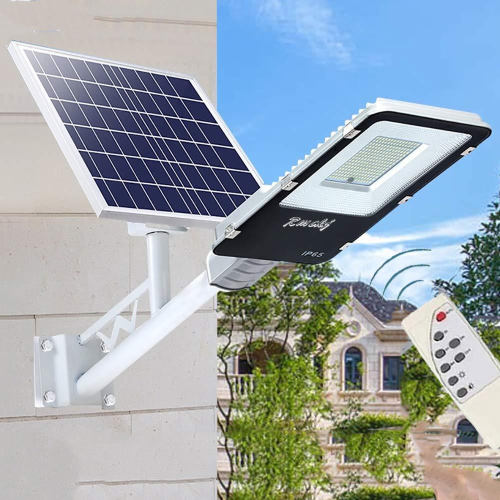 50W-400W Luz Solar Exterior Jardin Farola Solar Exterior IP65 Impermeable Lámpara LED De Alto Brillo Con Sincronización De Control Remoto Jardín Canalón Arena Área De Seguridad Iluminación ,400W: Amazon.es: Hogar