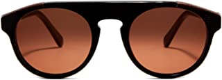 Racer Black/Brown Fashion Sunglasses SUPER-777 51mm