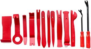 13pcs Pry Disassembly Tool Red Auto Car Audio Dash Tirm Panel Installer Dashboard Removal Opening Repair Tools Kit Interio...