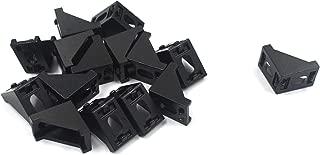MTMTOOL Black Corner Brackets Aluminum L Brackets Connector for 2020 Aluminum Extrusion Profile Pack of 15