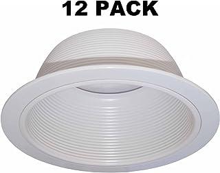"""15,2cm""""Beyaz-Gömme lamba Trim yerine Halo 310W Juno 24W-WH–12PACK"""