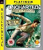 Uncharted: Drakes Fortune - Platinum Edition (PS3) [Importación inglesa]