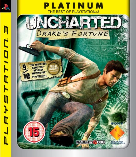 Uncharted: Drakes Fortune - Platinum Edition (PS3) [Importación inglesa]