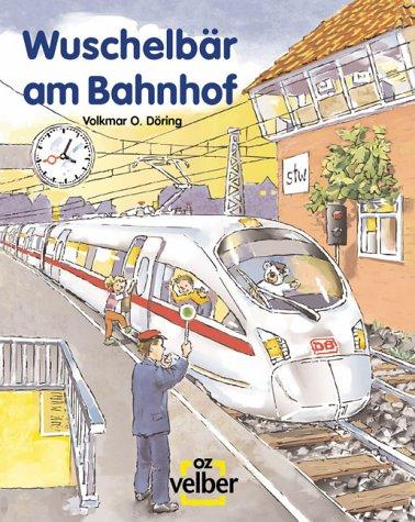 Wuschelbär am Bahnhof