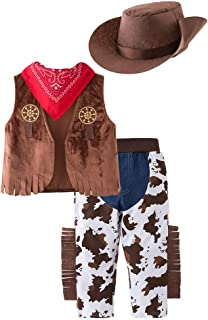 May's Baby Western Cowboy Style Kids Costume Set Cosplay Costume