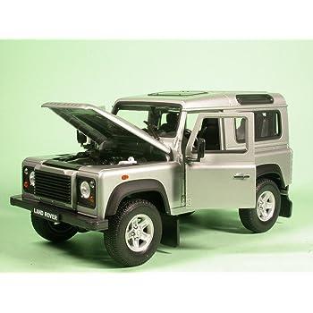 Land Rover Defender Trailer mit Rettungsboot Die Cast Modellauto Auto Spielzeug
