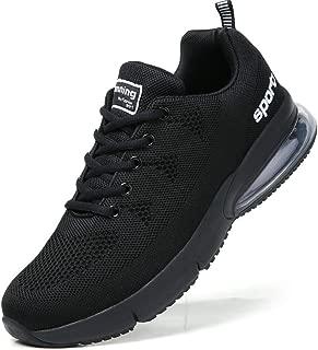 TSIODFO Men air Cushion Sport Running Tennis Walking Shoes