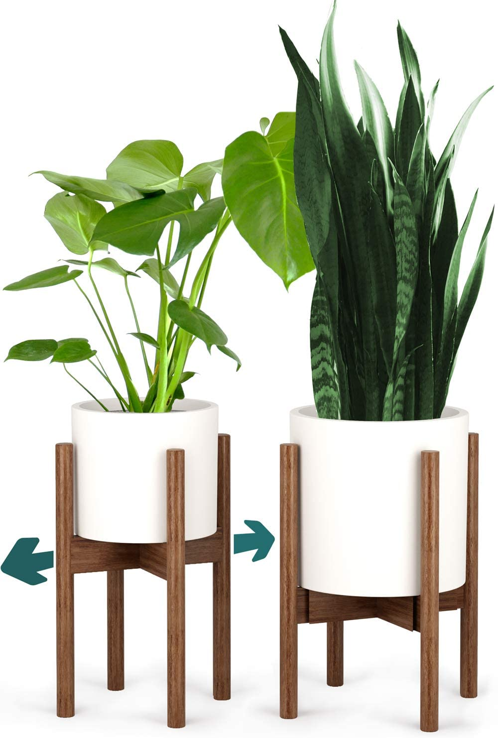 shipfree Challenge the lowest price of Japan Fox Fern Mid-Century Plant Stand - to up Adjustable 8