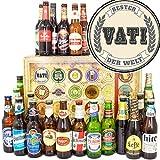Bester Vati der Welt/Bier aus aller Welt 24x / Geschenke