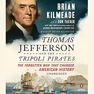 Thomas Jefferson and the Tripoli Pirates audiobook cover art