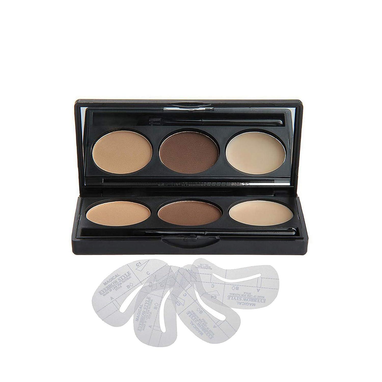 Vodisa Max 54% OFF Makeup Powder 3 Bargain Colour Eyebrow Tint Brow Kit-Eye Palette