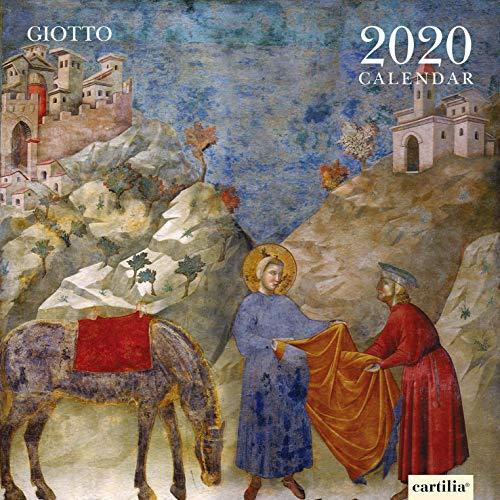 CALENDARIO DA PARETE 2020 SANDRO BOTTICELLI 30X30 CM GM115