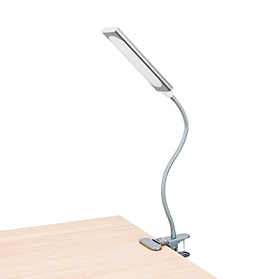 RAOYI LED Desk Lamp, Flexible Gooseneck Metal T...