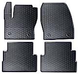 AME - Auto-Gummimatten in schwarz und Wabendesign