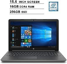 2019 Newest HP Pavilion 15.6 Inch HD Laptop (8th Gen Intel Quad Core i5-8250U up to 3.4GHz, 16GB DDR4 RAM, 256GB SSD, Intel UHD Graphics 620, WiFi, Bluetooth, HD Webcam, Windows 10)