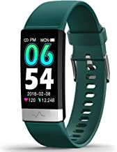MorePro Heart Rate Monitor Blood Pressure Fitness Activity Tracker with Low O2 Reminder, IP68 Waterproof Smart Watch with ...