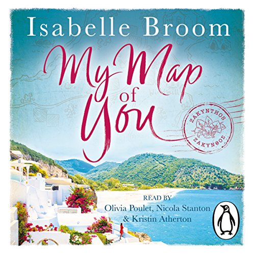 My Map of You audiobook cover art