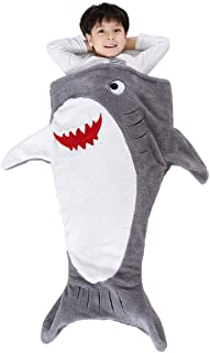 SINOGEM Shark Tail Blanket - Plush Animal Sleeping Bag...