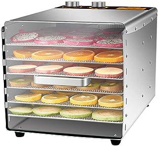 ZYFA Dörrapparat för livsmedel, dörrautomat med temperaturregulator, kött frukt grönsak torkare, dehydrator, kesser hemaut...