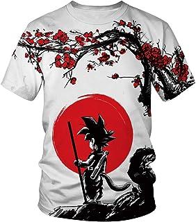 de6896e5f9f50b Women Men Fashion 3D T-Shirt Anime Dragon Ball Z Vegeta Goku Super Saiyan  Print