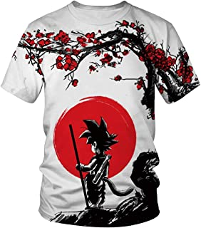 940edb263 Women Men Fashion 3D T-Shirt Anime Dragon Ball Z Vegeta Goku Super Saiyan  Print