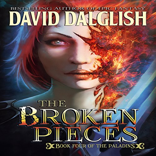 The Broken Pieces audiobook cover art