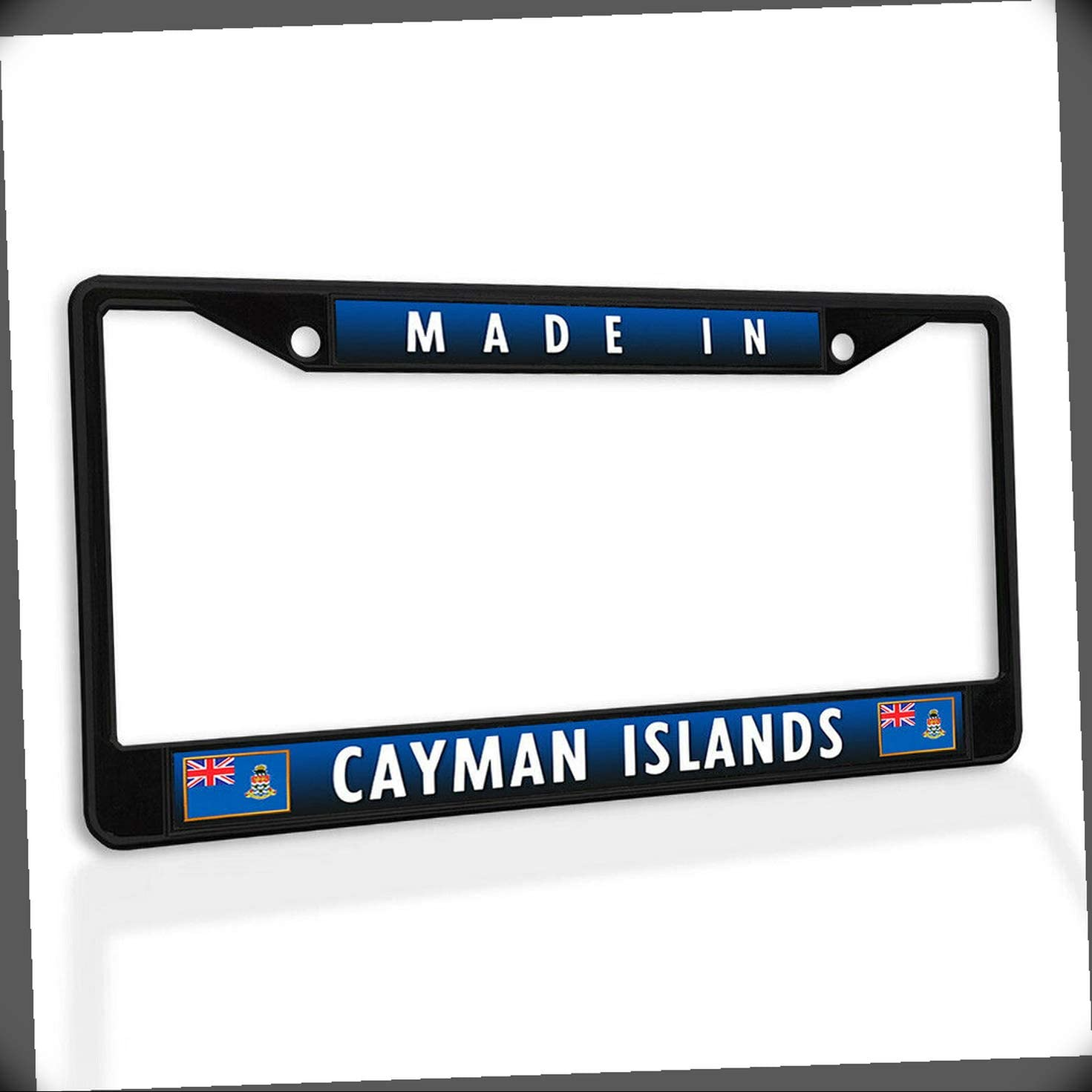 lowest price New License Plate Frame Made Super sale period limited in Car Islands Insert Metal Cayman