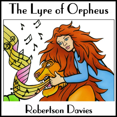 The Lyre of Orpheus audiobook cover art