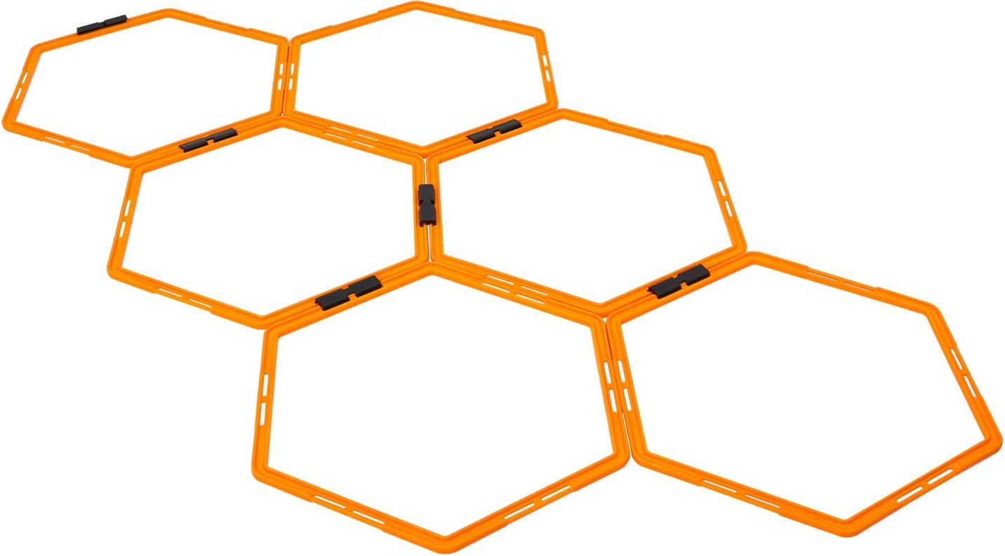 Max4out Hexagonal Speed Agility Training Sp 6 Rings Free shipping anywhere in the nation Set Weekly update of