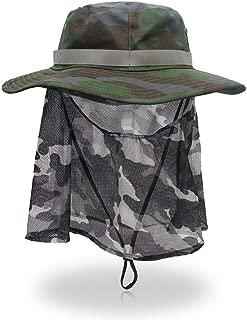 CAPPELLO con rete pesca rete antinsetti Api Insetti Protezione Viso Protezione Cappello Cappuccio