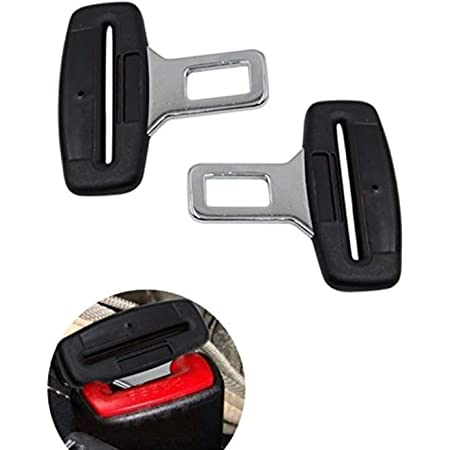 2 Stück Gurtadapter Gurtschloss Auto Gurt Alarm Stopper Dummy Anschnallwarner Auto