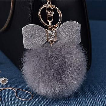 Cute Alpaca Key chain Clip Keyring Car Ring Bag Holder Gift Soft PVC Am3rs Hono/_