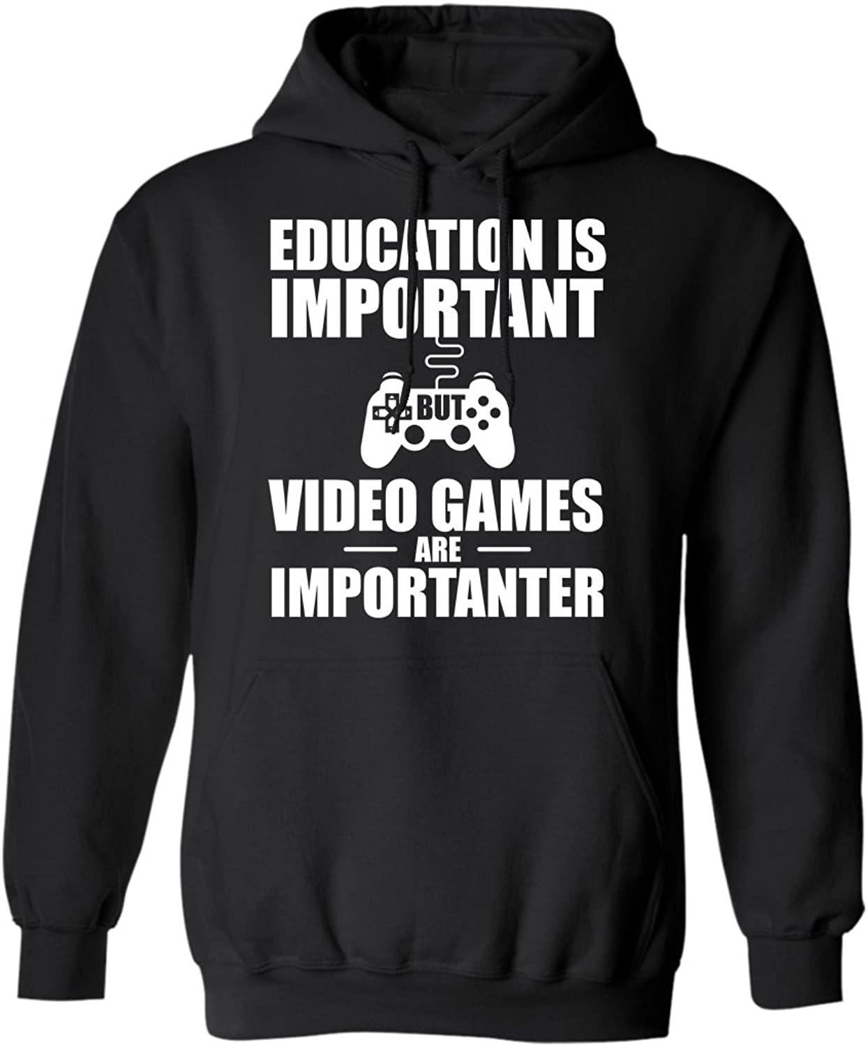 9bbe6a8b Teechopchop Funny Gamer Video Games Games Games are Importanter Th Hoodie  ea6411