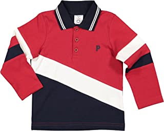 Polarn O. Pyret Color Block Rugby Shirt (Baby)