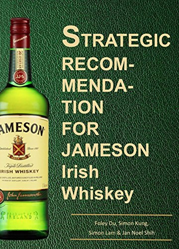 Strategic Recommendation for Jameson Irish Whiskey (English Edition)
