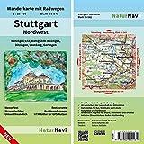 Stuttgart Nordwest: Wanderkarte mit Radwegen, Blatt 50-541, 1 : 25 000, Vaihingen/Enz, Bietigheim-Bissingen, Ditzingen, Leonberg, Gerlingen (NaturNavi Wanderkarte mit Radwegen 1:25 000) - NaturNavi