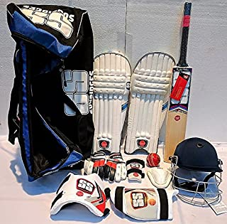 SS English Willow Complete Batsman Cricket Kit for Begginers/Youth