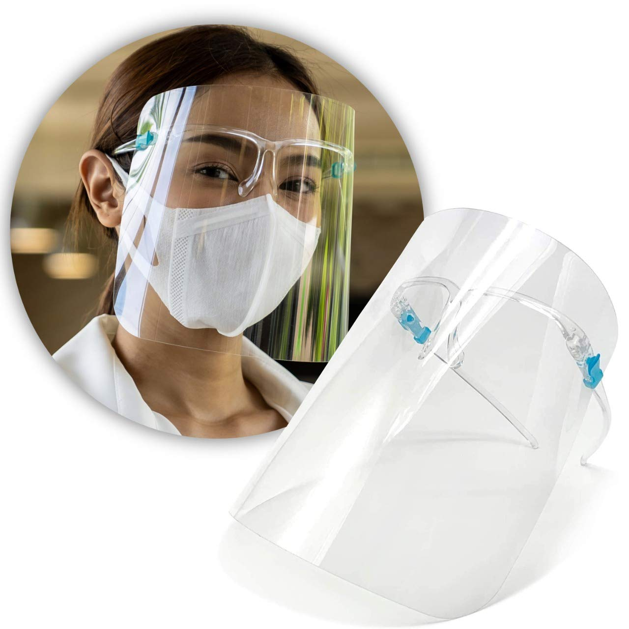 artnaturals Protective Face online shopping Shield - G Clear 5 Reusable Our shop most popular Pack