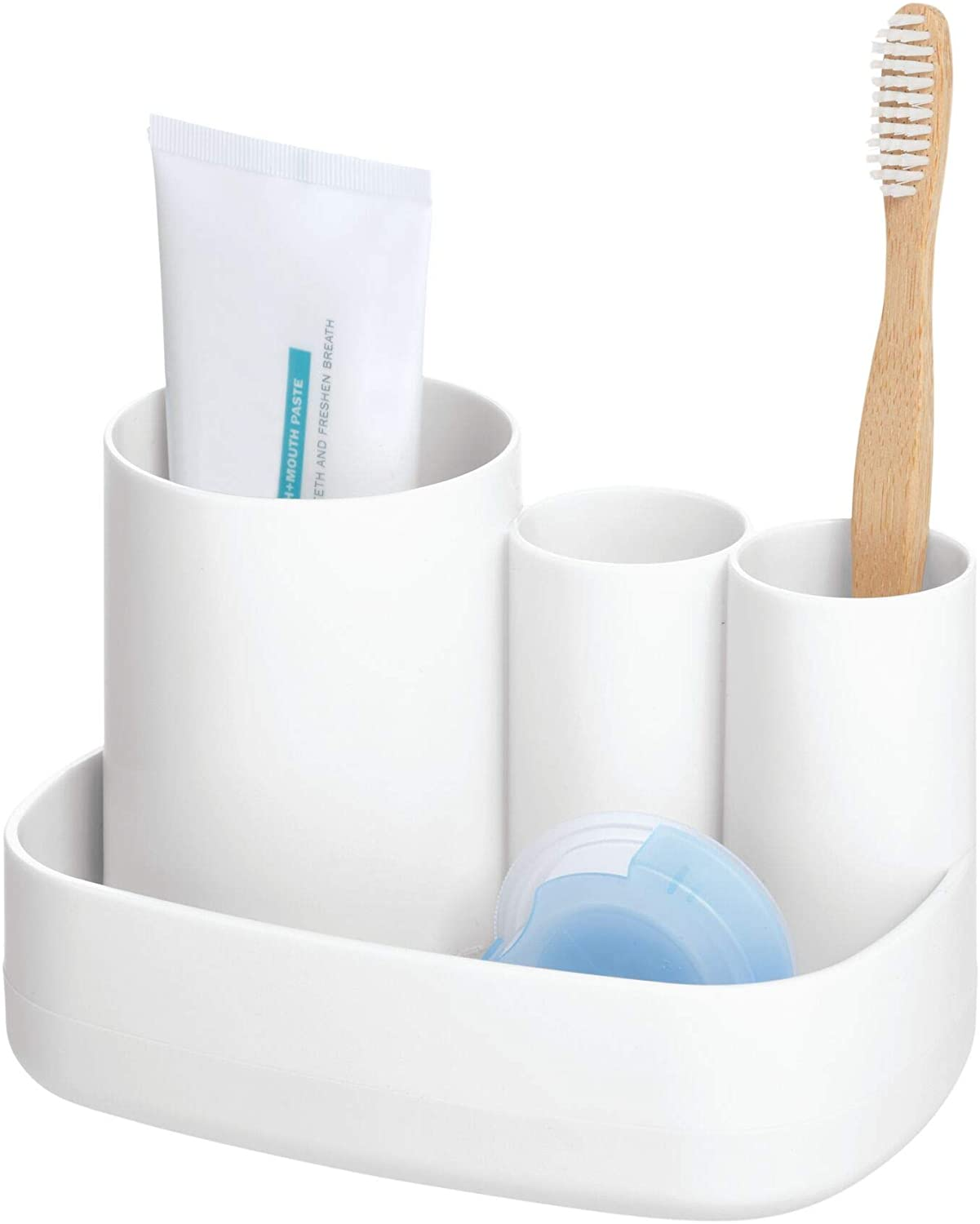 iDesign Cade BPA-Free Plastic Toothbrush Holder Dealing full price reduction Wholesale and S Toothpaste