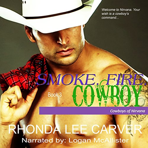 Smoke. Fire. Cowboy  By  cover art