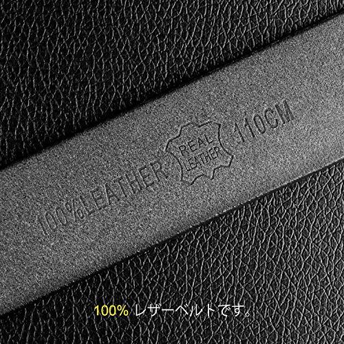 レディース本革 ベルト レザーベルト シンプル 耐久性 軽量 ビジネス カジュアル兼用 ベルト全三色JA041 ブラック