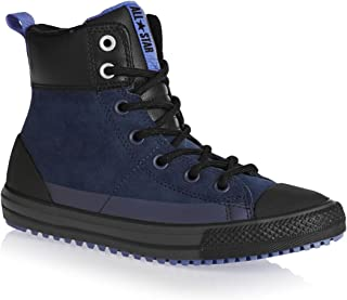Converse Chuck Taylor All Star Asphalt Boot Hi Navy/Oxygen Blue/Black (Little Kid/Big Kid)