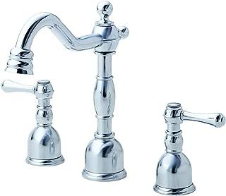 Danze D303157 Opulence Two Handle Mini-Widespread Lavatory Faucet, Chrome