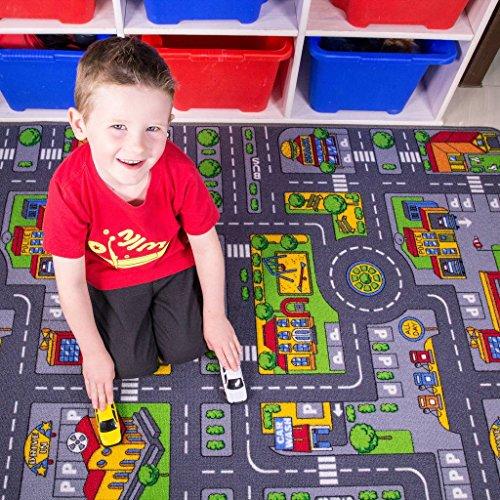 The Rug House pour Enfants Kids Multi Tapis de Jeu Tapis