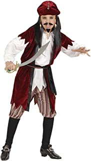 Caribe pirata con camisa w/chaleco, pantalones, Fancy Dress (los piratas)