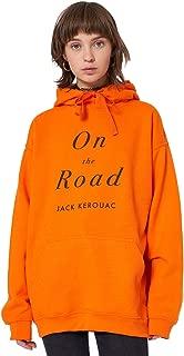 On The Road Hoodie Sweater Jumper Sweatshirt Top Women's Tumblr Grunge Book Retro