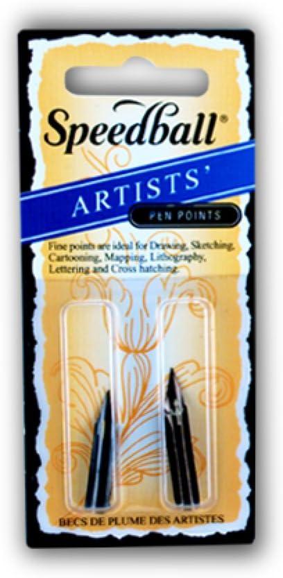 Finally Max 56% OFF popular brand Speedball Art Products 094101 99101 Artist Nib Pen Fine