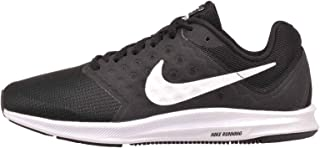 Women's Downshifter 7 Running Shoes, Black/White, Size 8 EE US